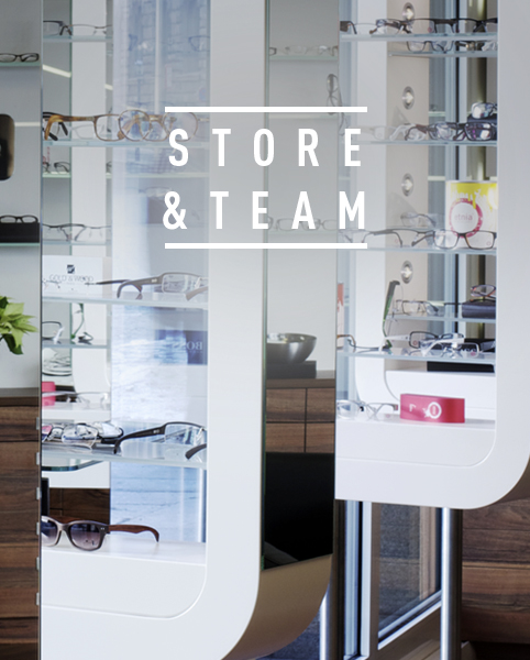 Store und Team - OPTIC BY MORRISON Optiker in Leipzig