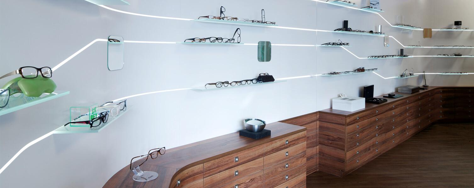 Beim Leipziger Optiker finden sich viele verschiedene Modelle