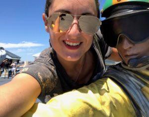 Sonnenbrillentrends 2018 verspiegelte Pilotenbrille